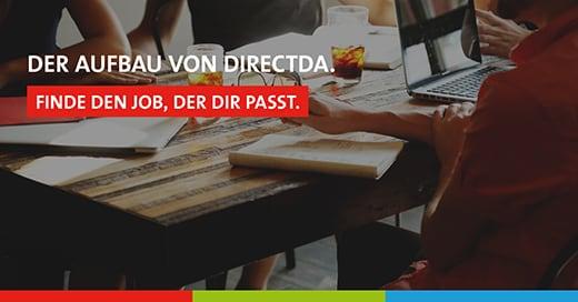 Aufbau der directda Personal GmbH