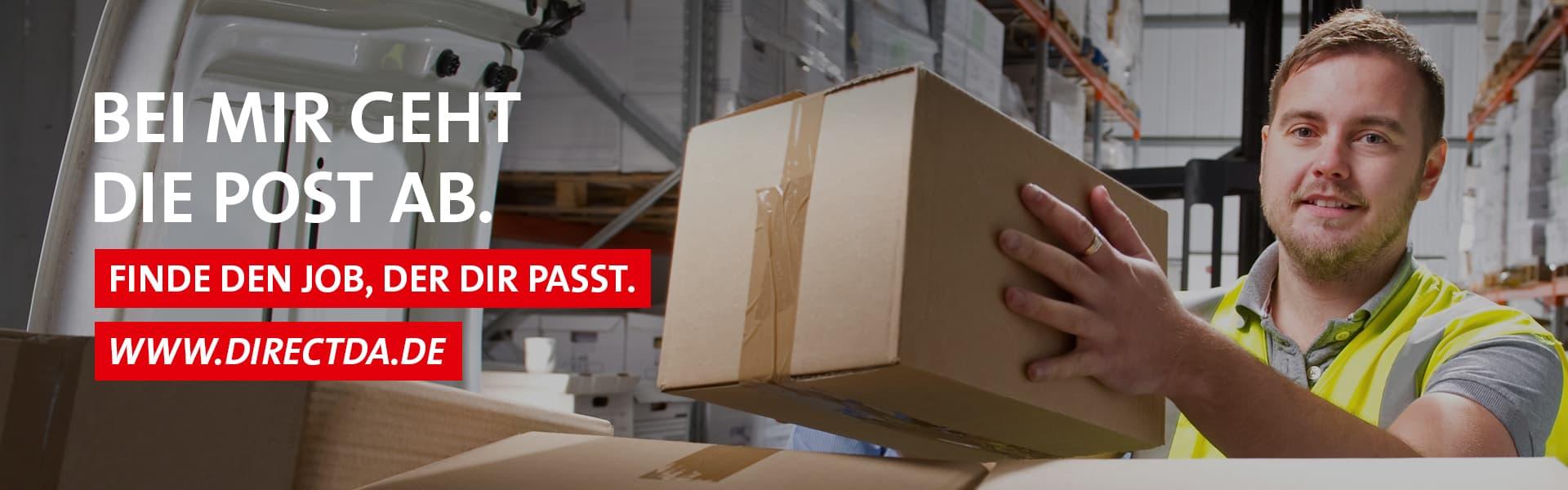 Stellenangebot Lagerarbeiter – Finde den Job, der dir passt. www.directda.de